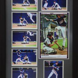 baseball collage frame